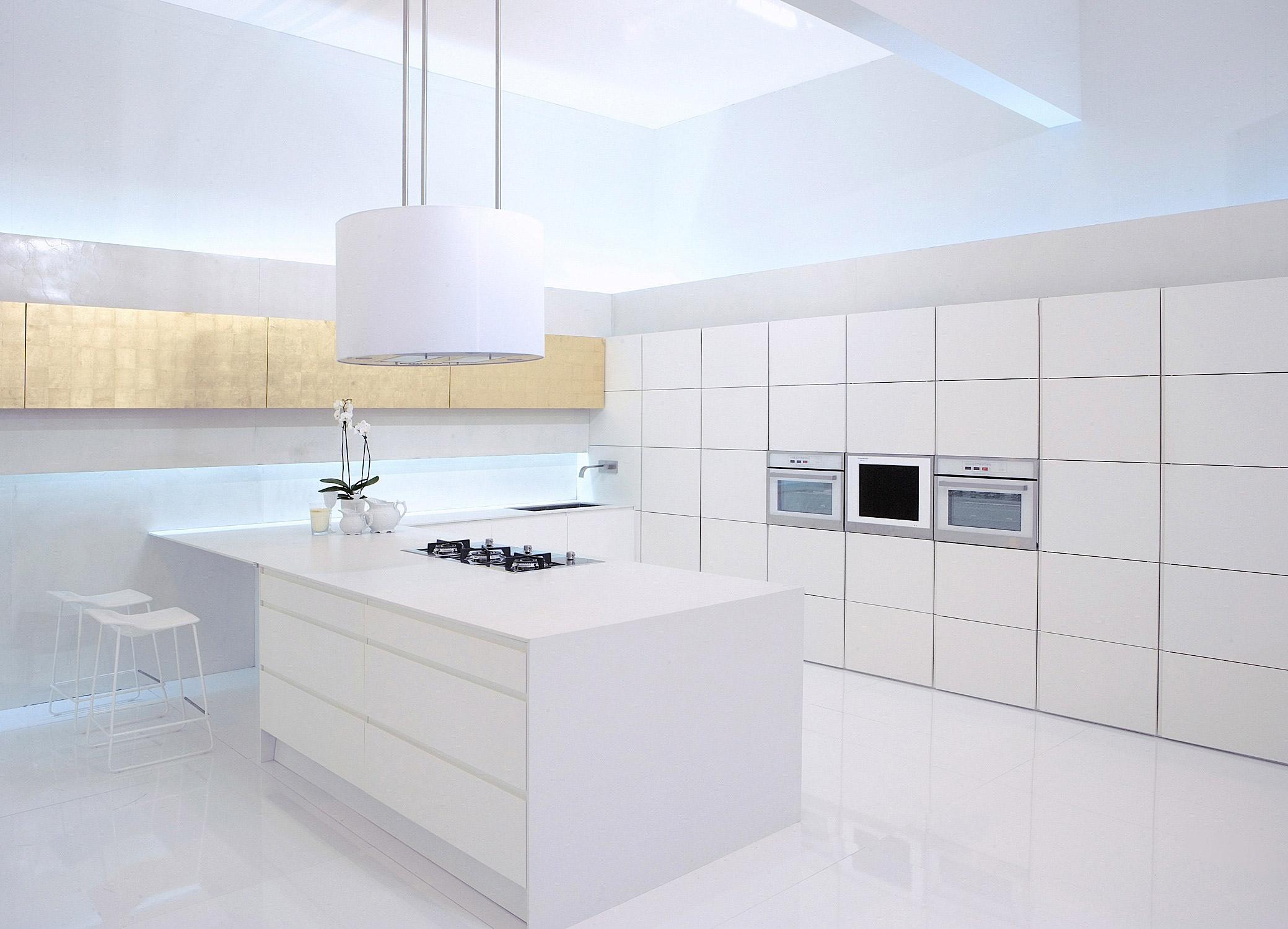 Konglomerat kwarcowy silestone for Cocinas blancas con silestone